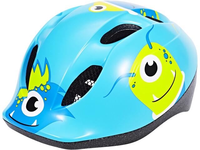 MET Buddy Kinderhelm  monsters blue